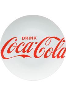 Jogo De Pratos Para Jantar Coca-Cola®- Branco & Vermelhourban