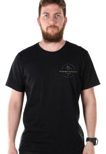 T-Shirt Bandup! Bdp Clothing Blessed Octopus - Masculino-Preto