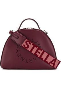 Stella Mccartney Bolsa Tiracolo Stella Com Logo - Roxo