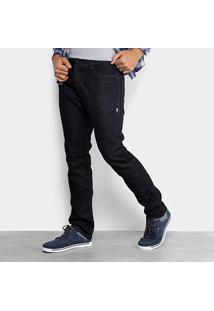 Calça Jeans Lost Denim Slim Black Masculina - Masculino