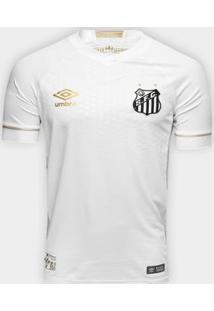 Camisa Santos I 2018 S/N° Jogador Umbro Masculina - Masculino