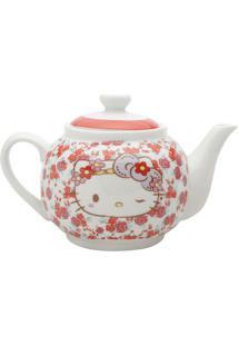 Bule Da Hello Kitty®- Branco & Vermelha- 800Ml- Urban