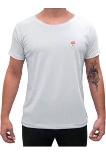 Camiseta Impermanence Estampada Rosa Masculina - Masculino