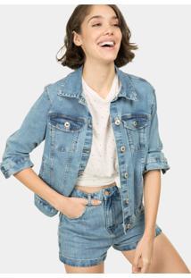 Jaqueta Jeans Slim Jeans - Lez A Lez