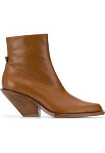 Just Cavalli Ankle Boot Texas - Marrom