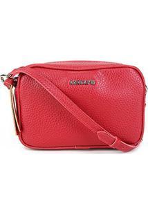 Bolsa Anacapri Mini Bag Eco Ravena Feminina - Feminino-Vermelho