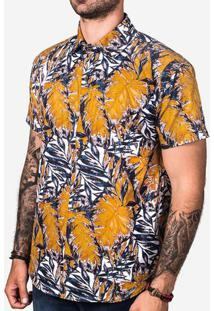 Camisa Yellow Leafs 200342