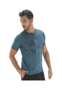Camiseta Timberland Kennebec Rv Seaso - Masculina - Azul Escuro