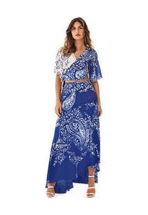 f1e4363682 ... Nude Rosa Morena Rosa Assimétrica Barra Assimetrica Fluida. Ir para a  loja  -50% Saia Longa Assimetrica Basica Azul