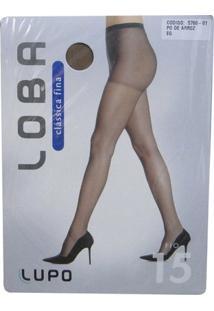 Meia Calça Lupo Loba - Feminino-Nude