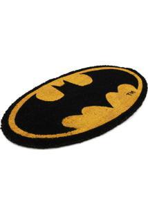 Capacho Fibra De Coco Dc Or Batman Amarelo 40X70 Cm Urban
