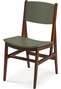 Cadeira Dumon Cacau E Cinza