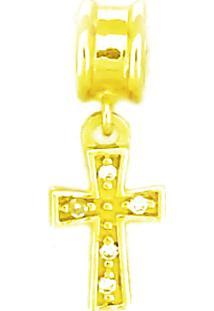 Pingente Ouro 18K Berloque Cruz