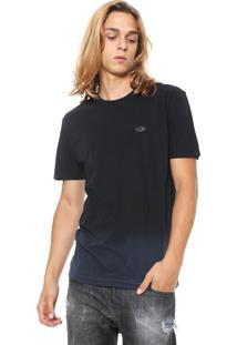 Camiseta Rusty Merged Azul-Marinho