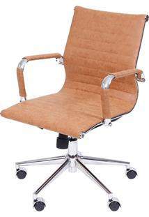 Cadeira Office Eames Esteirinha Or-3301 – Or Design - Caramelo