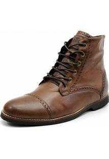 Bota Shoes Grand London Fossil Marrom