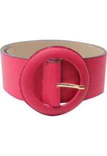 Cinto Birô Grosso Color - Feminino-Pink