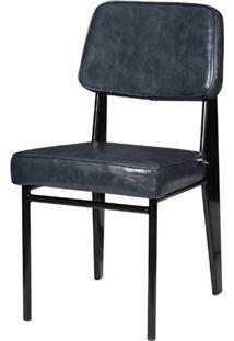 Cadeira Jean Provve Estofada Cinza 81 Cm (Alt) - 47158 Sun House