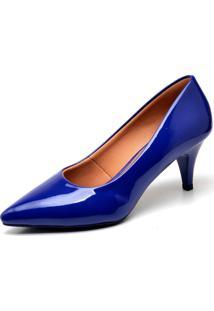 Scarpin Casual Gisela Costa Azul