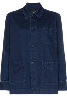 Eve Denim Jaqueta Jeans Oversized 'Lee' - Azul