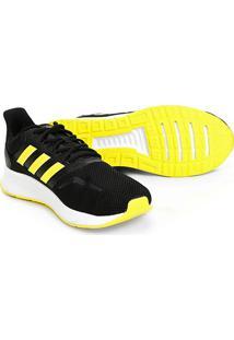Tênis Adidas Falcon Masculino - Masculino-Preto+Amarelo