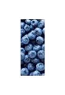 Adesivo Decorativo De Porta - Blueberry - Frutas - 312Cnpt Auto Colante