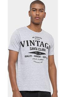 Camiseta Eagle Brasil Vintage Masculina - Masculino