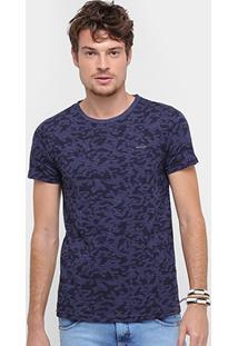 Camiseta Rock & Soda Camuflada Listras Masculina - Masculino