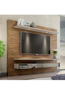Painel Para Tv 65 Polegadas Loki Nobre E Fendi 220 Cm