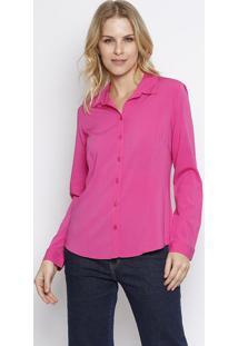 Camisa Lisa- Rosa- Intensintens