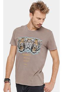 Camiseta Ellus Stone No Fear Masculina - Masculino
