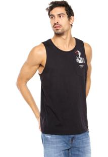 Camiseta Colcci Snake Preta