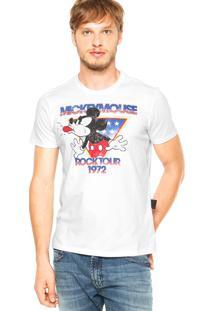 Camiseta Ellus Mickey Branca