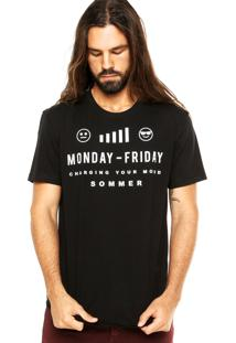 Camiseta Sommer Emotions Preta