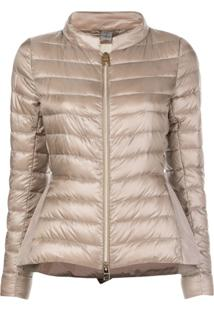 Herno Fitted Waist Padded Jacket - Cinza