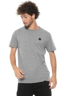 Camiseta Mcd Surfing Soud Waves Cinza