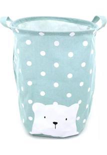 Cesto Organizador Le Baby Bear Para Roupas E Brinquedos Azul