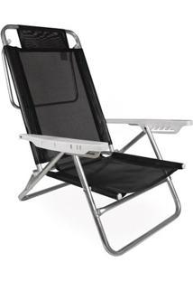 Cadeira Reclinável Summer - Unissex-Preto