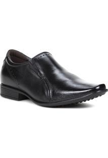 Sapato Casual Masculino Pegada Preto - Masculino