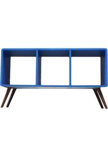 Estante Horizontal Bery - Azul Marinho - Tommy Design