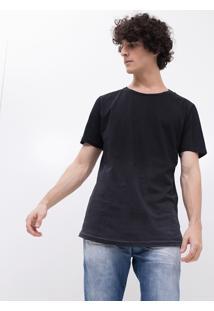 Camiseta Degradê Com Detalhe Nas Mangas