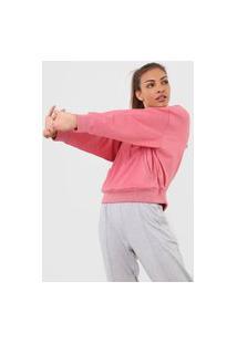 Jaqueta Gap Brushed Jersey Rosa