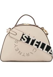 Stella Mccartney Bolsa Tiracolo 'Stella' Com Logo - Neutro