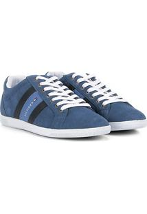 Sapatênis Couro Tommy Hilfiger Suede Masculino - Masculino