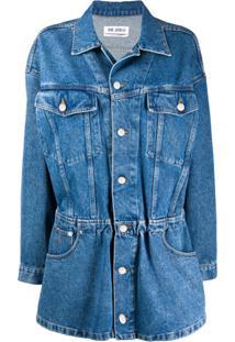 The Attico Chemise Jeans - Azul