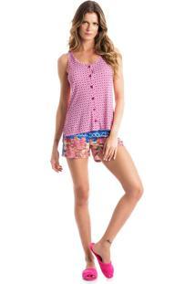 Pijama Ellen Abotoado C/ Regata