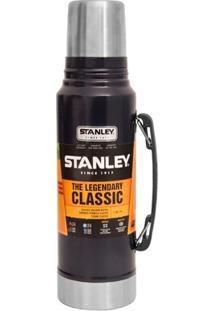 Garrafa Térmica Stainless Steel Classic 1L Navy - Unissex