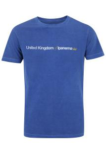 Camiseta Osklen Uk Of Ipanema - Masculina - Azul