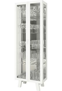 Cristaleira 2 Portas Cr6000 – Tecno Mobili - Branco