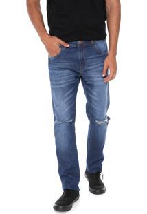 Calça Jeans Coca-Cola Jeans Slim Azul